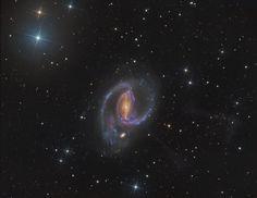 Джеты в NGC 1097 / Astro Analytics