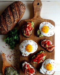 You can make Bruschetta for Easter breakfast with this recipe.