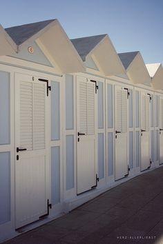 Italian Beach Huts