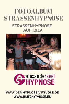 Fotos der Straßenhypnose am 16.07.2010 im Club Punta Arabi auf Ibiza mit Hypnotiseur Alexander Seel. Zu den Fotos klicken, jetzt...  #straßenhypnose #strassenhypnose #blitzhypnose Blitzhypnose #hypnose #hypnotiseur #alexanderseel Ibiza, U Bahn Station, Videos, Movie Posters, Movies, Pictures, Shopping Center, Photograph Album, 2016 Movies