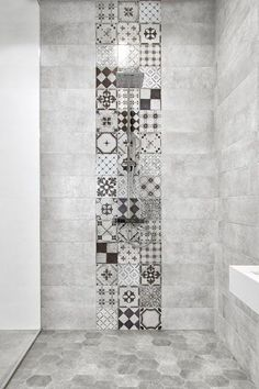 45 Best Shower Tile Ideas That Will Tranform Entire Atmosphere of Your Bathroom # Bathroom Tile Designs, Bathroom Interior Design, Modern Bathroom, White Bathroom, Master Bathroom, Bathroom Ideas, Asian Bathroom, Vanity Bathroom, Remodel Bathroom