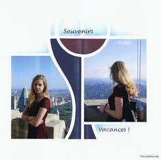 New York, 2 Photos, Bilbao, Scrapbook Pages, News, Inspiration, Passion, Blog, Template