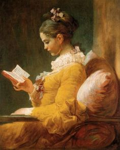 Jean-Honoré Fragonard, french rococo painter (1732-1806). The reader. Oil on canvas.