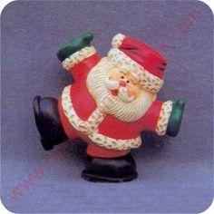 1982 Santa - Merry Miniature