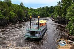 8. Taylors Falls Scenic Boat Tour - These boat tours on beautiful St. Croix Dalles are relaxing and provide the perfect end to a hike through Interstate State Park.