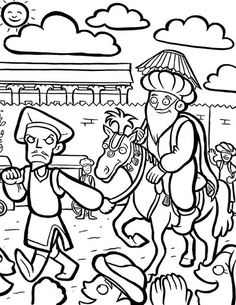 purim story coloring pages