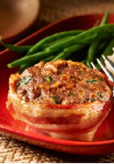 Make-Ahead Cheesy Bacon Mini Meatloaves – Keep these bacon-wrapped make-ahead mini meatloaves in the freezer for a fast, home-cooked solution to mealtime emergencies.