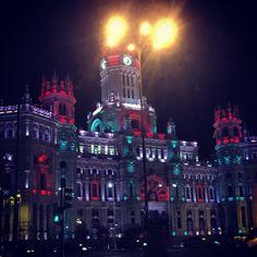 Edificio Correos Madrid #Navidad