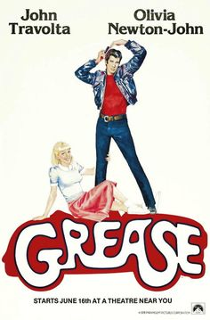 Grease, my very first movie in a movie theater!  My parents took me to see it when it opened & I loved it!