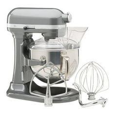 Batedeira KitchenAid KP26M1PSL Professional 600 Series 6-Quart Stand Mixer, Silver #Batedeira #KitchenAid