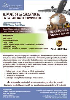 Desayuno #Conferencia #CSCMP: El Papel de la Carga Aérea en la #CadenaDeSuministro | #Mexico DF | 24 de Enero de 2013 | #eventos #logistica