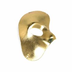 The gold phantom mask is perfect for any mardi gras or carnaval themed party.  The gold phantom mask will also liven up any Halloween costume.  This gold half mask is super comfortable and looks great too. Complete your Halloween costume with killer costume accessories. Your costume isn't ready until you deck it out with sunglasses, hats, boas, masks and more.
