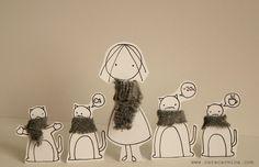 paper diorama by caracarmina