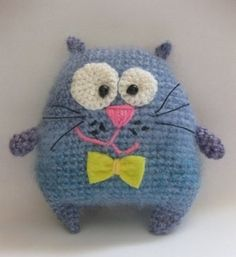 FREE Crochet Pattern (in Russian) - Crochet cat