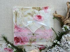 Ringkissen, Hochzeit, Lovely Wedding, individ. von Papierwiese auf DaWanda.com