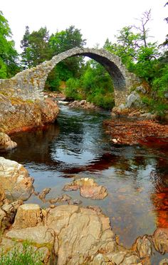 Carrbridge, Cairngorms, Scottish Highlands, Scotland