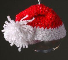 Crochet Santa Hat
