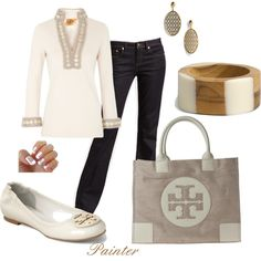 Tory Burch~Spring Day~, created by mels777 on Polyvore