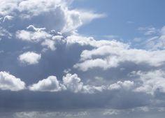 Wolkenprachte an der dänischen Atlantikküste