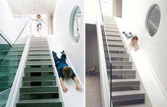 22 самых оригинальных дизайна лестниц, делающих поднимание на второй этаж настоящим наслаждением.
