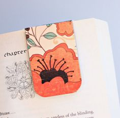 Magnetic+Bookmark+Laminated+Poppy+Poppies+by+PurelyChicDesigns,+$4.00