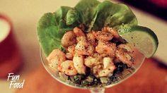 Shrimp, Tomatoe and Olive Coctail \ Коктейль из Креветок и Томатов