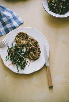 Cauliflower and Feta Fritters