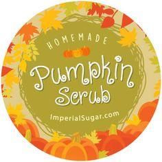 Pumpkin Body Sugar Scrub   Imperial Sugar Recipe