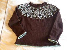 Cottage Garden sweater by JelliDonut, via Flickr