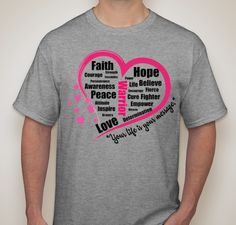 Get this shirt thru September 15, 2015 for Relay For Life!