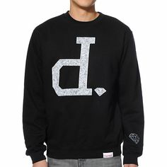 DIAMOND SUPPLY Diamond Supply Co x Ben Baller Un Polo Black Crew Neck Sweatshirt Item # 220919 $67.95 NEW