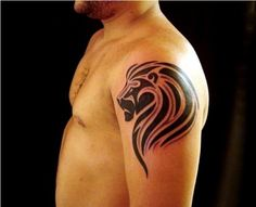36 Cool Tribal Lion Tattoos | How to Tattoo?
