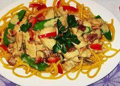 Food Snapchat, Pasta Salad, Treats, Chicken, Ethnic Recipes, Crab Pasta Salad, Sweet Like Candy, Goodies, Sweets