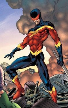 Speed Demon Marvel Comic Universe, Marvel 3, Comics Universe, Marvel Comics, Sinister 6, Western Comics, Spider Man 2, Marvel Entertainment, Deathstroke