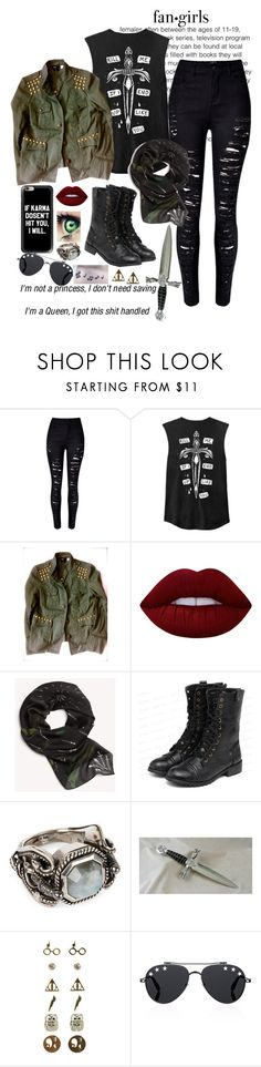 """Untitled #292"" by lilydoa ❤ liked on Polyvore featuring WithChic, Lime Crime, rag & bone, yeswalker, Alexander McQueen, Warner Bros., Givenchy and Music Notes"
