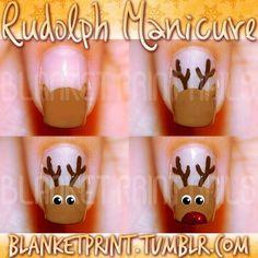 #DIY nail art