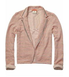 Maison Scotch Striped Blazer $109