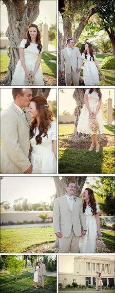 how cute are they? plus i'd love to have her dress! (but full length)