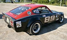 1971 Datsun 240Z SCCA Race Car For Sale Rear Side