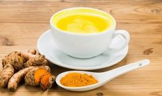 In India, the bright yellow turmeric-seasoned drink, also referred to as golden milk or turmeric milk (haldi doodh in Hindi), is a favourite night time drink for many people trying to prevent infections stay healthy during the winter months. Turmeric Tea Benefits, Turmeric Milk, Health Benefits, Tumeric Latte, Turmeric Juice, Turmeric Lemonade, Turmeric Detox, Turmeric Curcumin, Health Tips