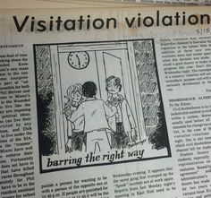 Unrest continues to build around the debate of visitation curfews in dorms. Though many compromises have been offered, students still refuse to settle for anything less than a 24-hour visitation standard. (Image cropped from MU Archives) 1973 #MiamiUniversity #MUArchives #OxfordOH #MiamiStudent