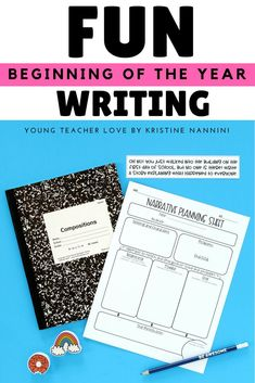 Setting Fun Writing Expectations to Start Your Year Right - Young Teacher Love 3rd Grade Books, Third Grade Writing, 6th Grade Ela, Teaching 5th Grade, Middle School Writing, 3rd Grade Classroom, Beginning Of School, Teaching Tips, First Day Of School