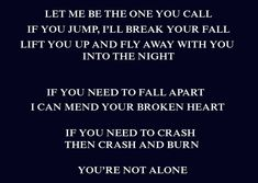 Crash and Burn- Savage Garden. how great is this song seriously <3