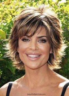 Pleasing Lisa Rinna Layered Razor Cut Pictures Of Bobs And What S Hairstyles For Men Maxibearus