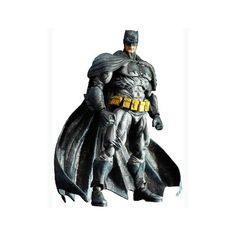 Play Arts Kai Arkham City: Batman No. 4 9-Inch Action Figure   ToyZoo.com