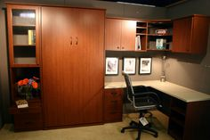 About Portland Closet Company - Custom Spaces in the Pacific Northwest. Beautiful and Affordable Custom Closets, Offices, Garages and Organizational Spaces. Closet Companies, Fold Out Beds, Custom Closets, Bed Wall, Office Spaces, Portland, Guest Room, Room Ideas, Kitchen Cabinets