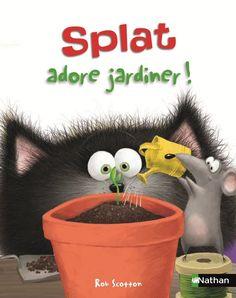 À quelques jours du printemps, je vous propose une exploitation pédagogique d'un album mettant en scène le personnage de Rob Scotton, Splat le chat ! Par une journée pluvieuse, Splat s'ennuie chez lui. C'est alors que son ami Harry Souris, lui apporte...