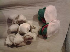 Pita pockets and pasta. Felted blissed