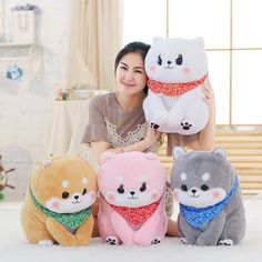 Office Air-conditioned Blanket Toy Reasonable Cartoon Shiba Inu Blanket Toy Summer Single Flannel Blanket Toy Nap Blanket Toy