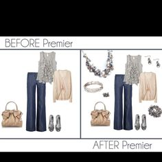 See how easy bringing your wardrobe from blah to fab can be using Premier Designs Jewelry can be!?!! Message Leslie Trotter at Positivelylj@gmail.com Codeword: LJ Pinterest on how to get your very own FREE JEWELRY!